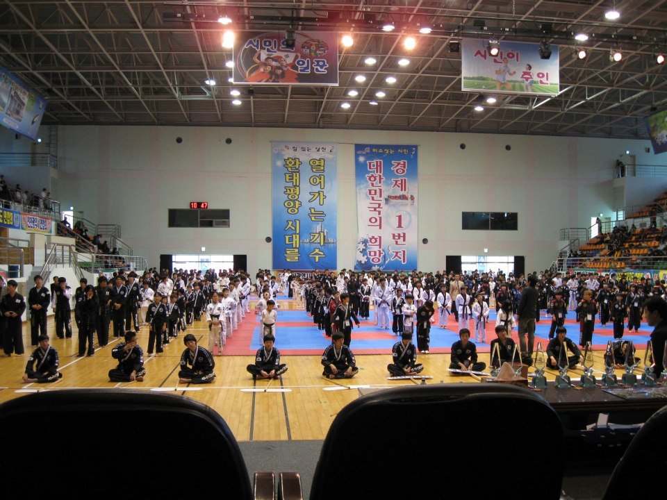 Josef-Schoop-Korea-Demonstration-Hapkido-Turnier
