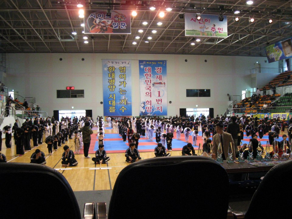 Korea-Demonstration-Hapkido-Turnier